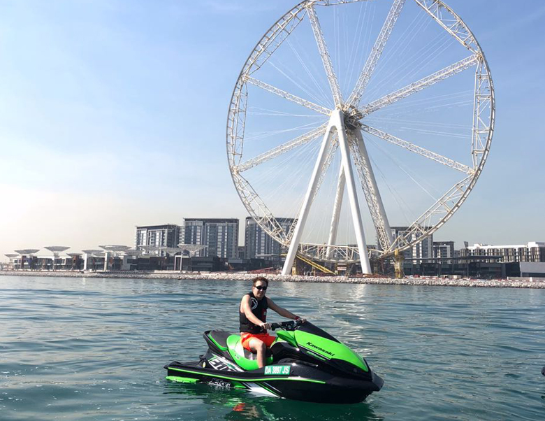 Ride in Dubai