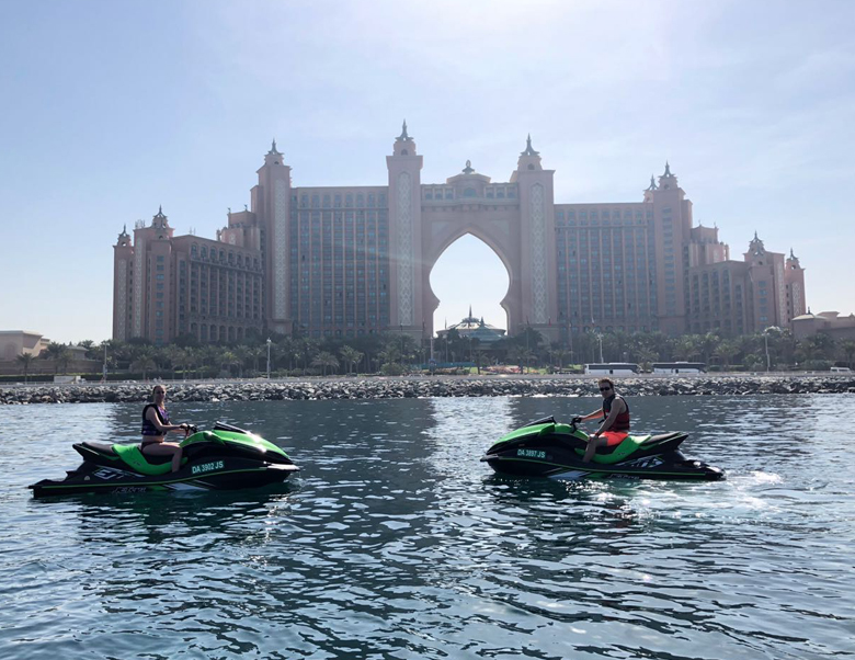 Ride in Dubai - jet ski good view