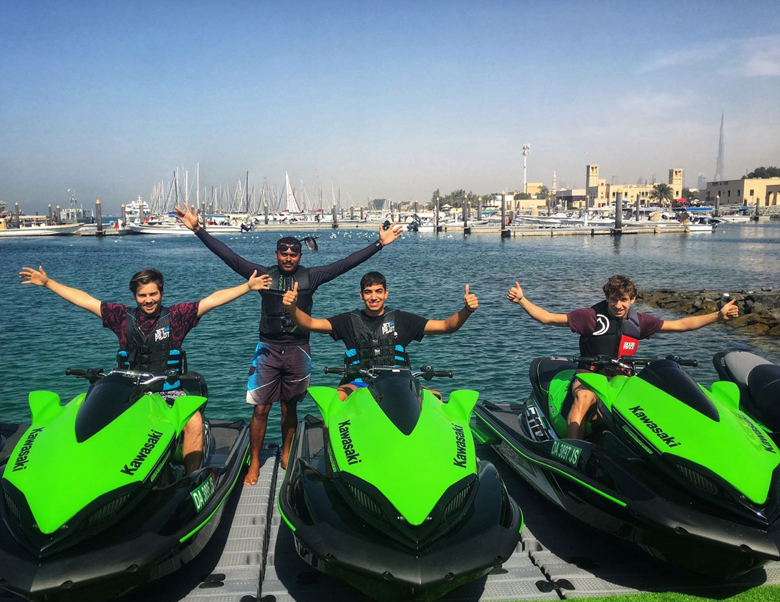Ride in Dubai - jet ski rental