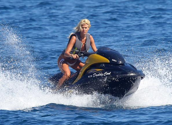 Woman jet ski Dubai