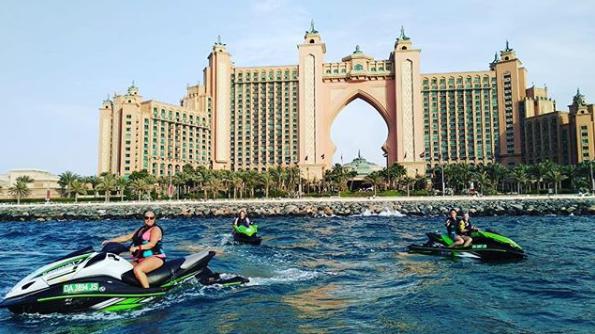 Dubai jet ski rental
