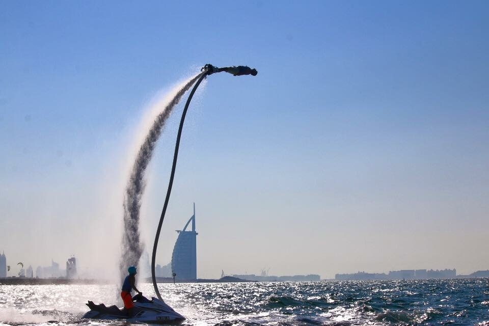 Fly board n Dubai