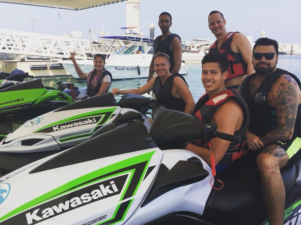 Jet Ski Riding in Dubai