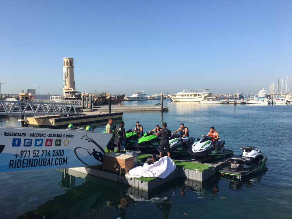 Jet Ski riding dubai