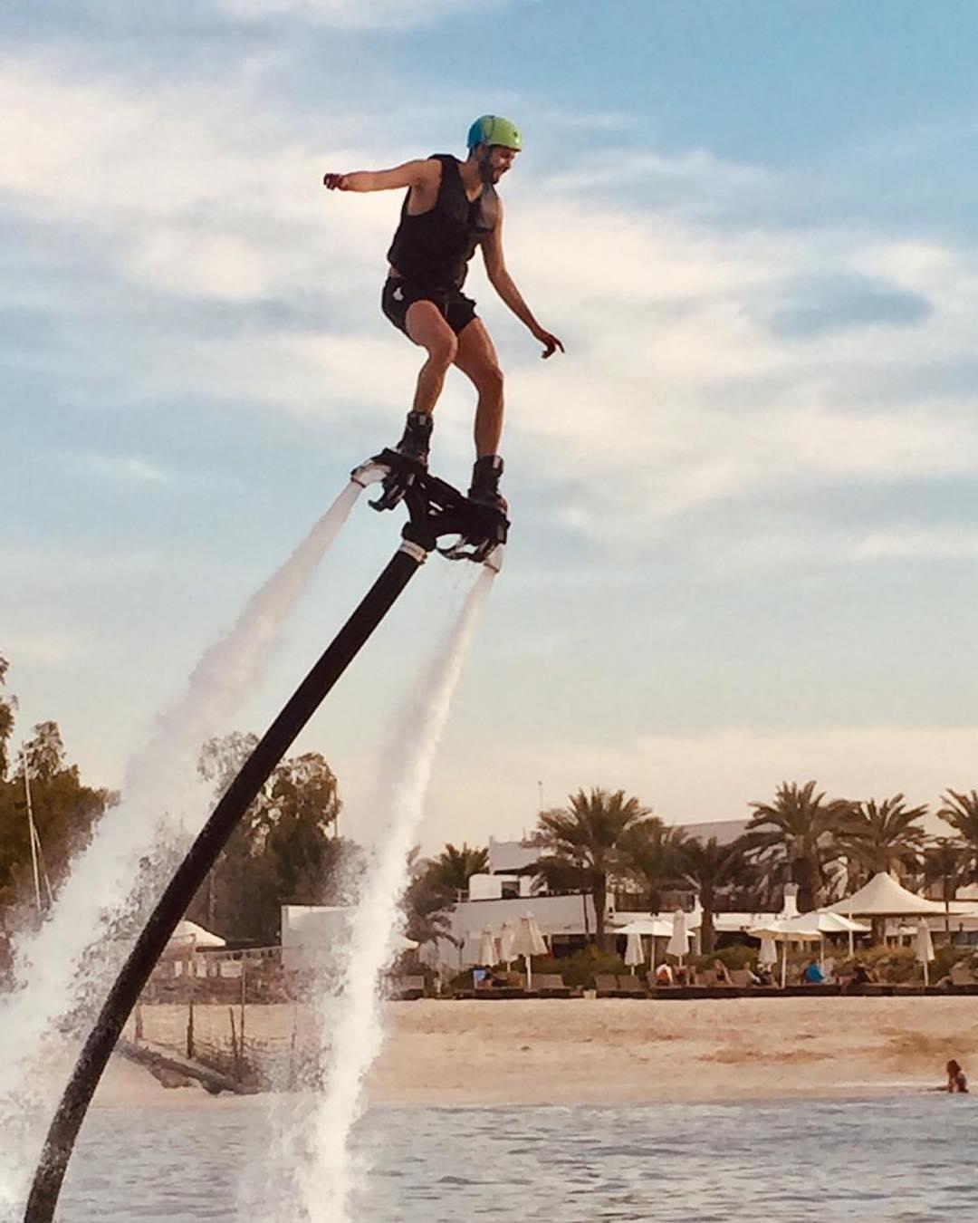 flyboarding dubai