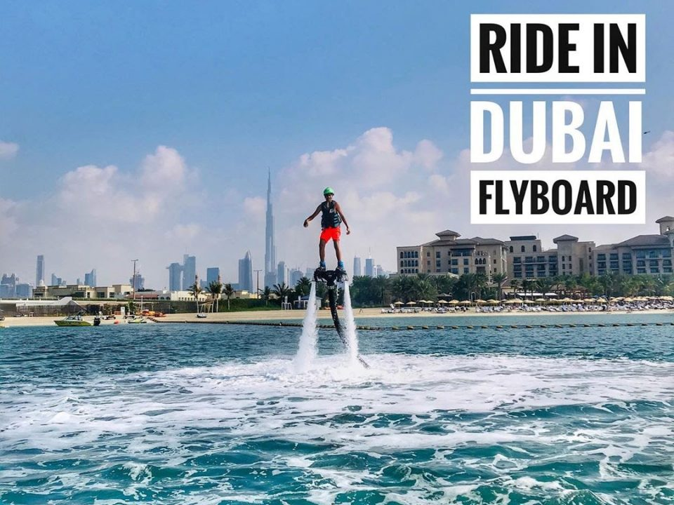 Ride In Dubai- Flyboarding in Dubai